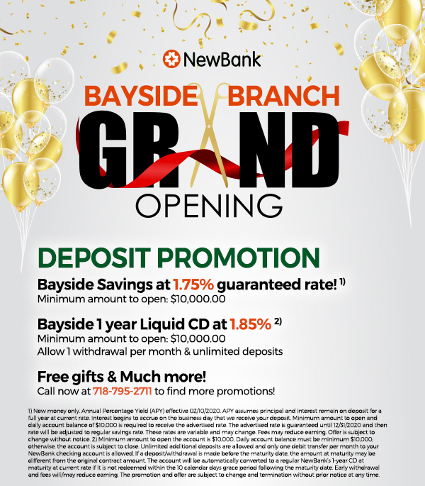bayside grand opening
